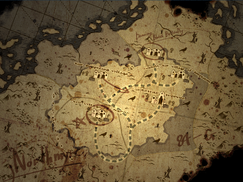 North Myre Map.png